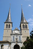 Hof Church (1644) - also called the Cathedral of St. Leodegar - with its Gothic twin towers - Lucerne