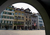 Alstadt (old city) Lucern square - a place called the Weinmarkt (Wine Market)