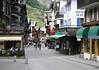 Through the central city of Zermatt - canton of Valais