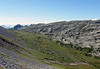 Scree along the northwestern slope of Winteregg - across the valley - to the northeastern slope of the Indri Sagissa - canton of Bern