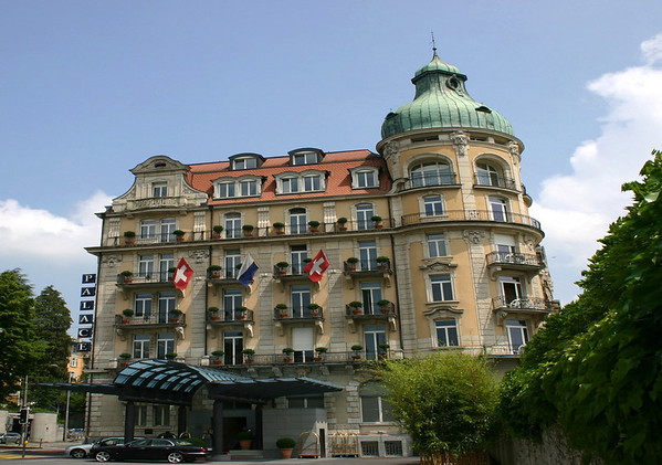 Palace Luzern (5 star hotel, built in 1904) - Lucerne