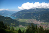 Lake Thun (Thunersee) - and Interlaken - from Schynige Platte - canton of Bern