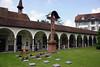 Cloister at the Hof Church - Lucerne