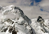 From the lower northwestern slope of the Breithorn to the Klein Matterhorn - from the Gornergrat (ridge) - canton of Valais