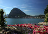 From Parco Ciani - across Lake Lugano (mostly in Switzerland, with about 35% in Italy) - to Monte San Salvadore