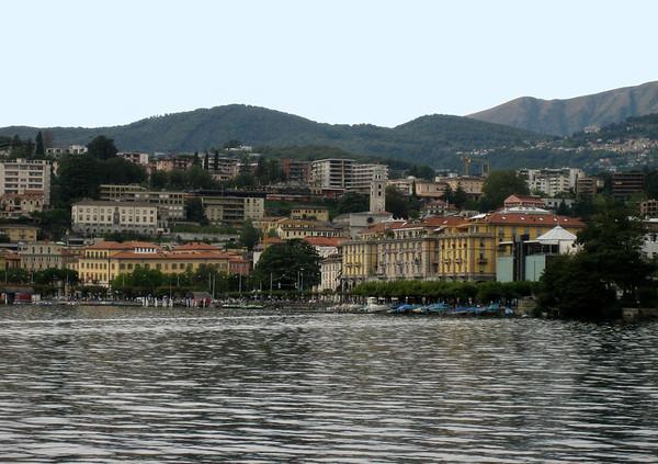 Lugano from Castagnola quarter - Canton of Ticino