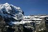 Southwestern face of the Silberhorn (Silver Horn) - canton of Bern