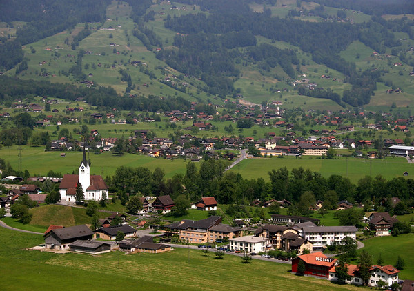 Sarnen - the capital of the canton of Obwalden