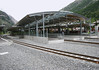 Tasch Train Station - along the Matter Valley - canton of Valais