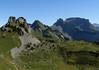 From Schynige Platte - to the Oberberghorn, Loucherhorn, Indri Sagisssa and Winteregg - canton of Bern