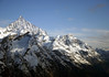 Weisshorn (L) and the Brunegghorn (R) - canton of Valais