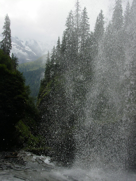More of the waterfall