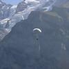 Paragliding above Gimmelwald