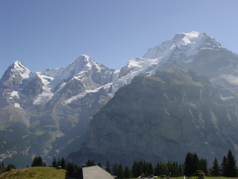 Eiger, Monch, and Jungfrau