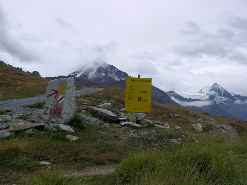 Part of the Sierre-Zinal mountain race.