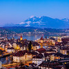 City panorama / Lucerne, Switzerland