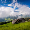 Mountain farm / Ristis, Switzerland