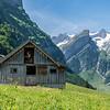 Schür mit Säntis, Switzerland 2018