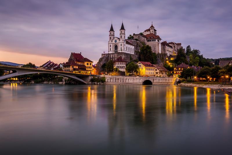 River Aare / Aarburg, Switzerland