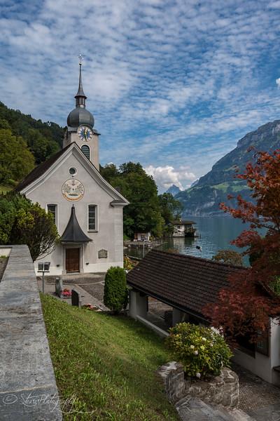 Am See in Bauen, Switzerland 2014