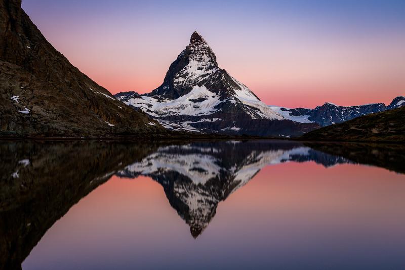 Matterhorn reflection / Riffelsee, Switzerland