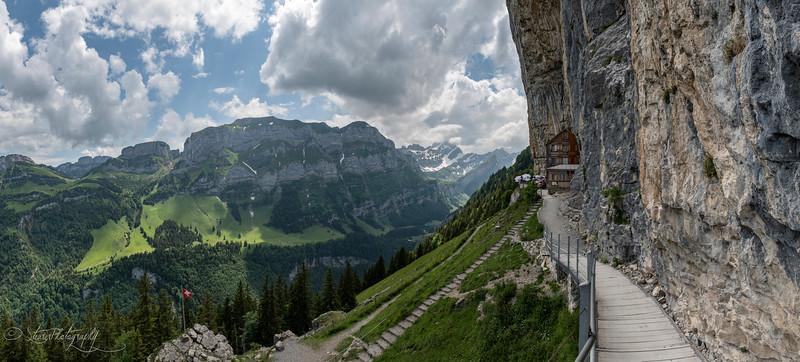 Aussicht vom Aescher, Switzerland 2018