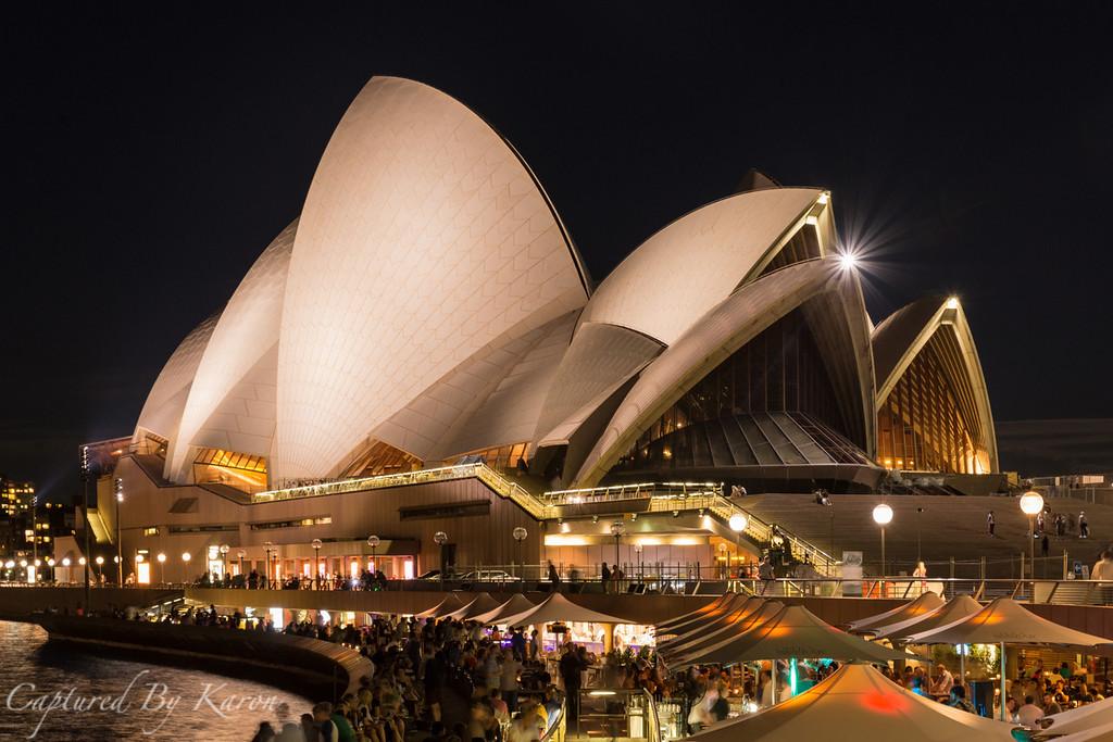 Sunday Night, Sydney Opera House