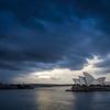 Sydney Opera in the Blue