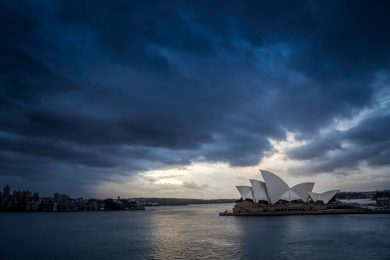 Sydney Opera in the Blue