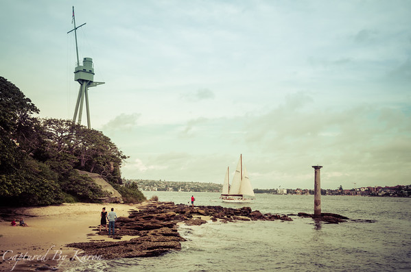 Easter Monday at Bradley's Head, Sydney