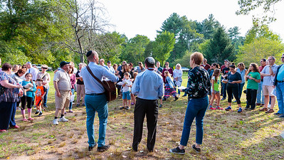 Worship: Tashlich at Elm Bank