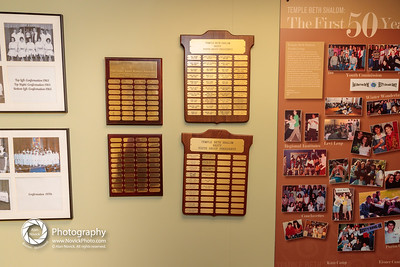 BESTY Past Presidents' plaque: Walls of History