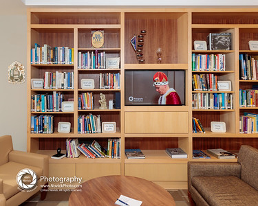 Community Court: bookcase