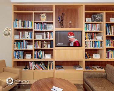 Community Court: bookcase