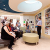 Friday night: guided (more or less) tours<br /> Children's Center Reading Room, below skylight.