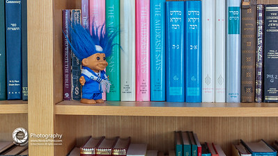 Rabbi Jay's study.