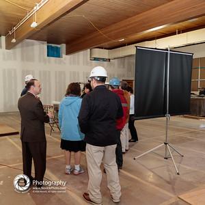 Simon Hall under construction