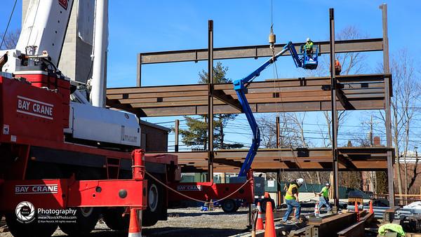 TBS Rising - crane & bucket