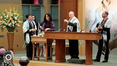 Worship: Shabbat candle lighting