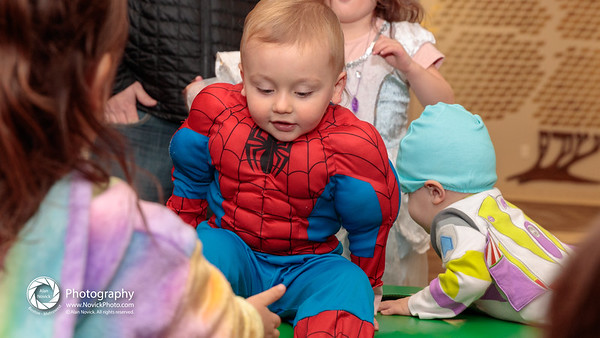 Children's Center: at the Purim Party