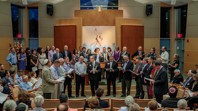 1. Worship: Saturday night dedication ceremony. Havdalah: with TBS past presidents.