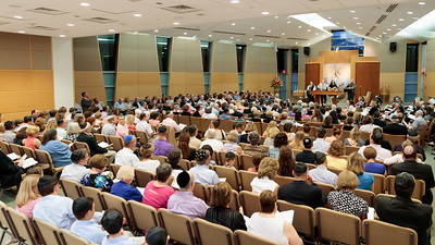Shabbat services with a few friends.