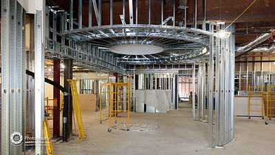 TBS Rising: construction progress as of April 29, 2016