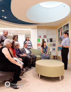 Friday night: guided (more or less) tours Children's Center Reading Room, below skylight.