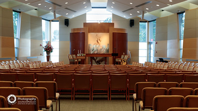 Sanctuary, before the services