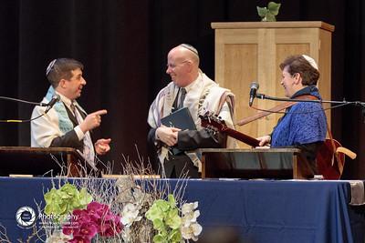 Rabbi Todd Markley, Rabbi Jay Perlman, & Cantor Marcie Jonas