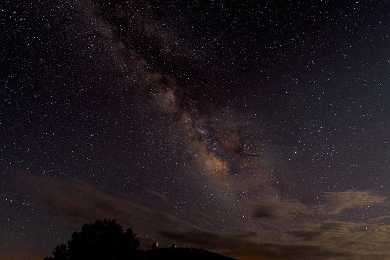 Night Sky, Davis Mountains
