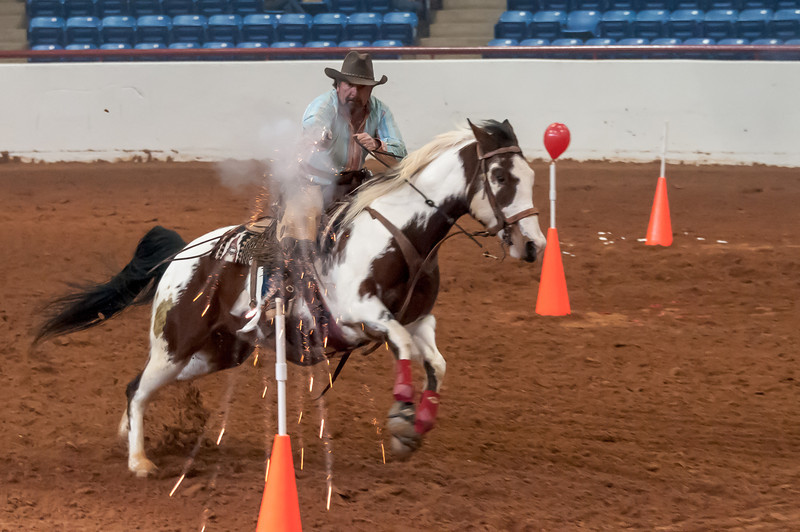 Mounted Shooting, FW Stock Show