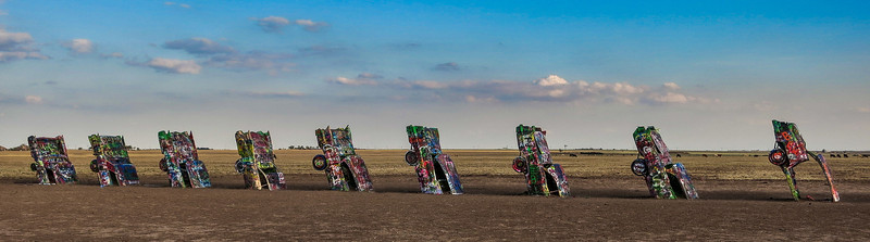 Cadillac Ranch near Amarillo