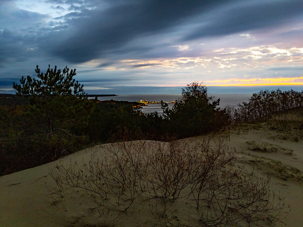 Sunrise from Parnidis dune